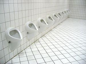 Urinale - diese hier leider nicht von Urimat