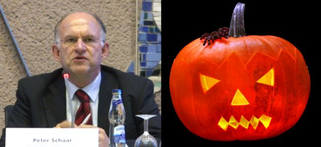 Peter Schaar und Halloween