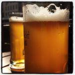 Das Messing-Bier der Brauerei Albrecht