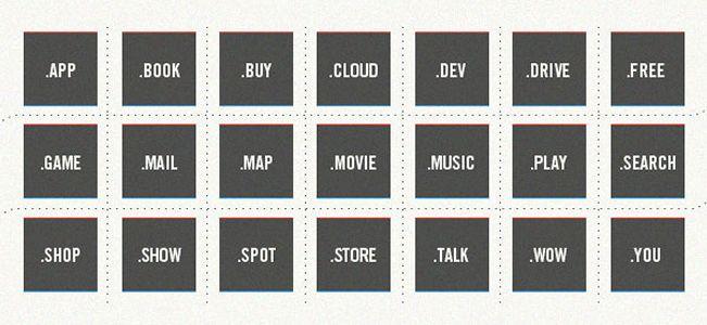 Infografik zu neuen Top-Level-Domains nTLD
