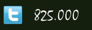 825 Tausend aktive Twitter-Nutzer in Deutschland