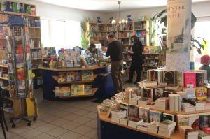 Klein aber fein die Bücherinsel vor Ort