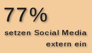 Externer Einsatz von Social Media in Unternehmen