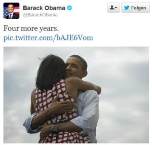 Best Practice: Obama und die Verknüpfung von Politik und Emotion in sozialen Medien