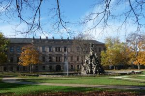 Schloss und Schlossgarten in Erlangen