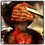 13 Entrecote im Big Green Egg