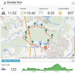 Laufen mit Runkeeper