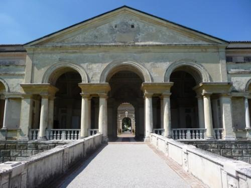 Palladio-Motiv am Palazzo del Te in Mantua
