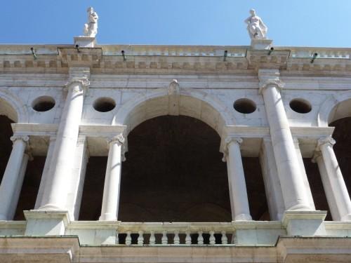 Palladio-Motiv an der Basilica in Vicenza