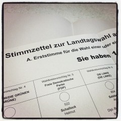 Wahl in Bayern