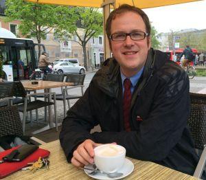 Auf einen Cappuccino ... Gespräch mit dem neuen Erlanger OB Florian Janik