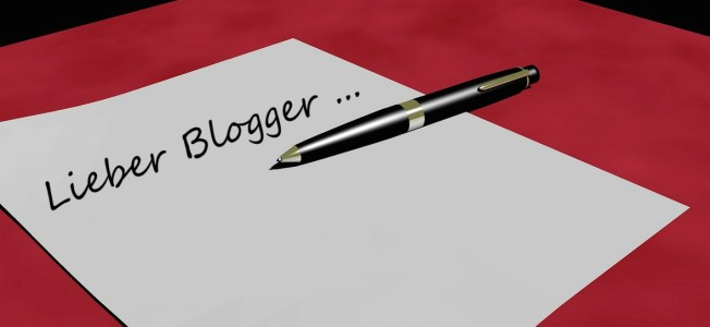 Post an den Blogger