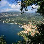 Blick auf Garda von der Rocca aus