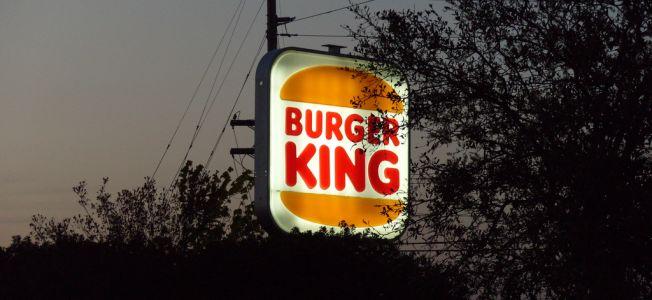Fast Food bei Burger King