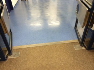 Auf Teppich folgt PVC