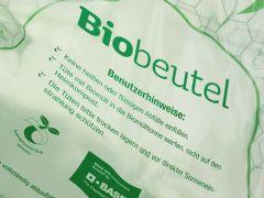 Biomuell-Tuete