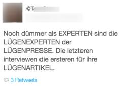 Luegenpresse-Tweet
