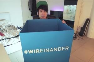 Auch YouTuber Julien Bam wirbt für die Kampagne der Techniker Krankenkasse