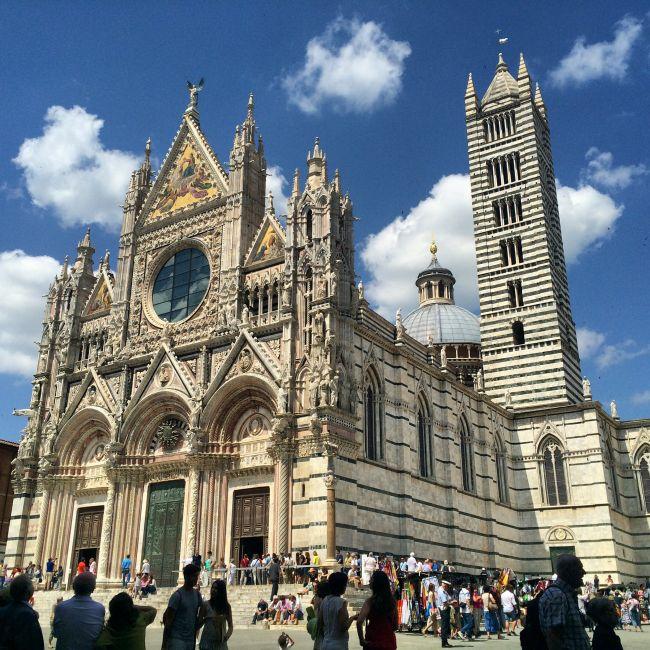 Siena: Dom mit Streifen
