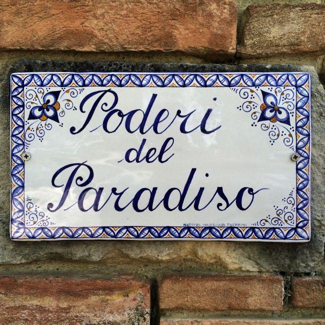 Paradiesisches Weingut in der Toskana