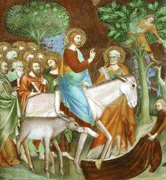 Fresko aus dem Dom von San Gimignano