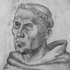 Luther-Portrait von Lucas Cranach d. Ä.