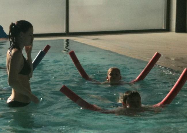 Beim Schwimmkurs