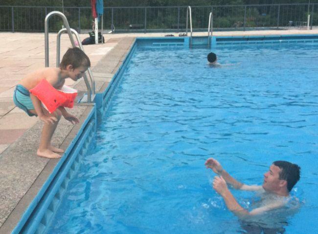 Mut zum Sprung ins kalte Wasser