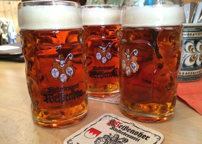 Und zum Abschluss ein Altfränkisches Bier in der Klosterbrauerei