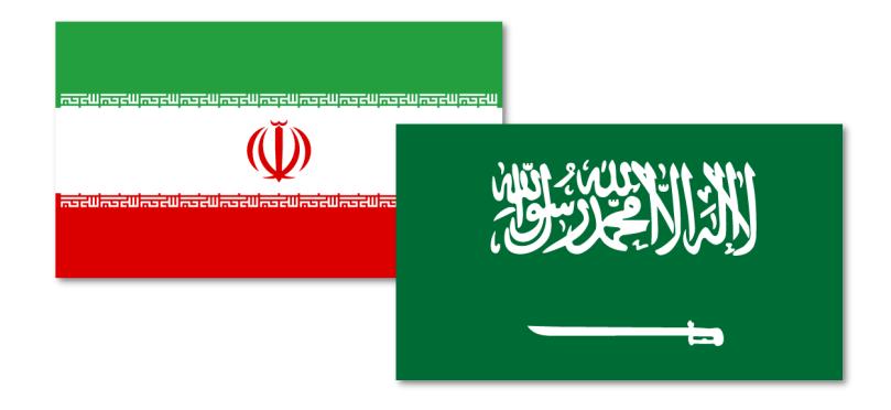 Iran und Saudi Arabien