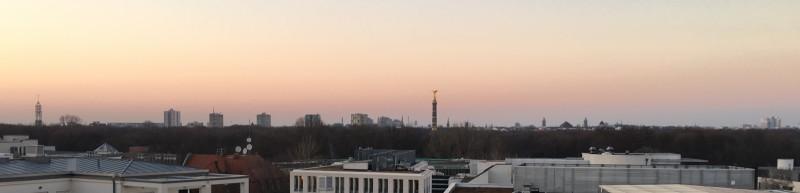 Blick von der Dachterasse des Adenauer Hauses