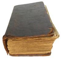 Homöopathisches Verschütteln mit der King James Bibel