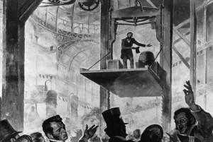 Aufzug-Erfinder Elisha Graves Otis