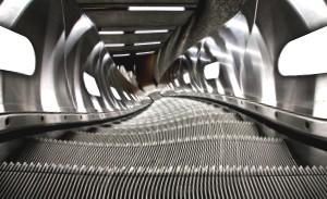 Schwindelgefühl auf der Rolltreppe - das Broken Escalator Phenomenon