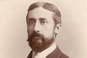 Jesse Reno, der Erfinder der Rolltreppe