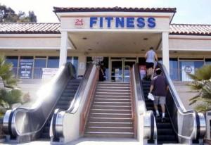 Abnehmen und Kalorien verbrauchen dank Treppe statt Rolltreppe