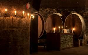 Musik und Licht im Weinkeller
