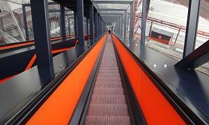 Die ehemals längste Rolltreppe Deutschlands