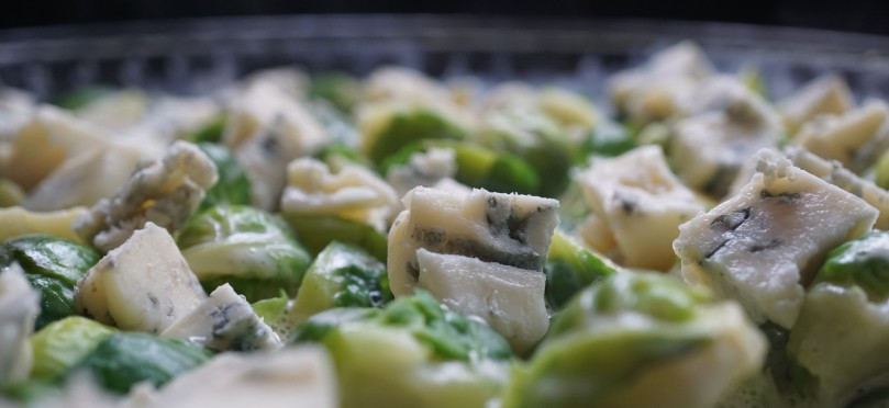Rosenkohl mit Gorgonzola